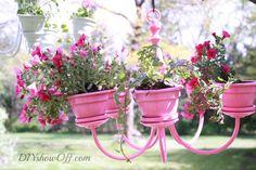 pink-chandelier-planter DIY
