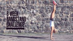 New 6-Week Handstand Challenge!   During the next month and a half, we're going to be working on different exercises you can do to help you build up to doing a freestanding handstand.  Don't be too intimidated—it doesn't matter if you've been practicing handstands for a while now or you've never even tried to do one, this 6-Week Handstand Challenge is for you!