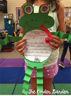 Frog and Toad are Friends opinion writing craft!