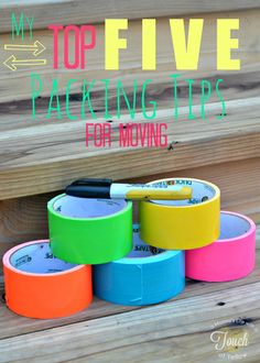 A mommy's life...with a touch of YELLOW: My Top FIVE packing tips {for moving} #moving #tips
