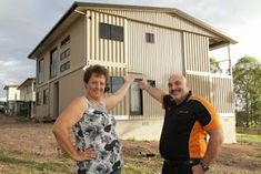 40 FT Shipping Container Home, - Weeks Family, - River Heads, Queensland, Container Home Designs, Cargo Container Homes, Building A Container Home, Storage Container Homes, Shipping Container Buildings, Shipping Container Design, Used Shipping Containers, Shipping Container House Plans, Container Architecture