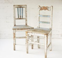 SOLD gorgeous peasant chair straight from the eastern european countryside  lovely transylvanian chair simple and honest with loads of character good photography or styling prop  color: distressed white and bright light blue original paint  this chair makes a good pair with: www.etsy.com/listing/503142310/antique-transylvanian-chair?ref=shop_home_active_1  measurements: height back 94 cm - 37 inch height seat 49 cm - 19,29 inch depth seat 39,5 cm - 15,55 inch width seat 46 cm ...