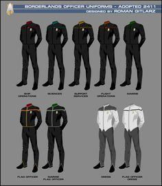 Uniforms | Star Trek: Borderlands PBEM RPG