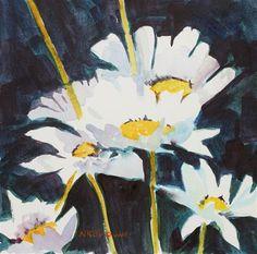 "Daily Paintworks - ""The Friendliest Flower"" - Original Fine Art for Sale - ©…"