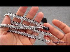 Beaded Flowers Patterns, Beaded Bracelet Patterns, Beaded Necklace, Seed Bead Bracelets Tutorials, Bead Loom Bracelets, Bead Loom Designs, Beaded Jewelry Designs, Jewelry Knots, Bead Jewellery