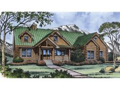 Lochmoor Trail Rustic Log Home