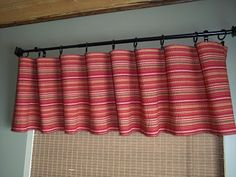 Using A Table Runner For A Valance Great Idea Home