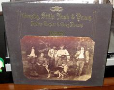 "CROSBY, STILLS, NASH & YOUNG, DEJA VU VINYL LP GATE FOLD, 33 RPM, 12"" 1970 1st"