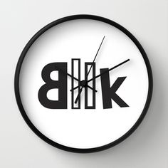 Book+Wall+Clock+by+Double+Double+Studio+-+$30.00