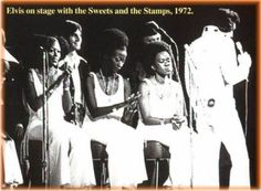Elvis and The Sweet Inspiration in concert 1972