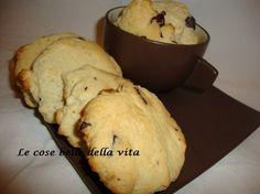 Biscotti rustici al cioccolato e nocciole