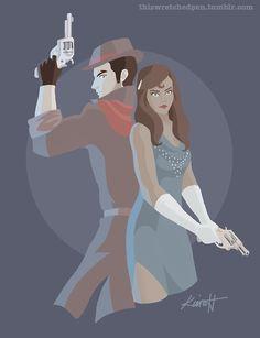 Korra and Mako :)