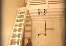 loft bed swing