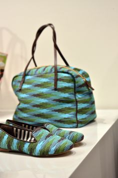 #MMissoni Gifts for mum | Chunky Tricolor cyber shopping bag and slippers | Summer 2014 Collection