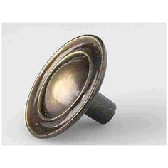 Amerock® Carriage House Cabinet Knob With Backplate in Antique ...