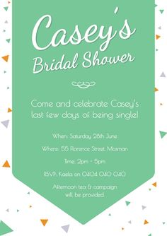 print your own bridal shower invitation all images and graphics are owned by fox and beau