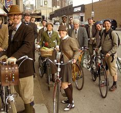 L.A. Tweed Ride: Tweed, Moxie and Moustaches - Urban Adventures (Los Angeles, CA) - Meetup