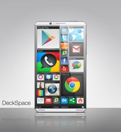 deckspace7 - The DeckSpace Phone, a prototyping experiment focused on designing with a new user experience. http://www.yankodesign.com/2013/02/25/isee-a-better-phone/#5Qu6yVthACQKYMGm.99