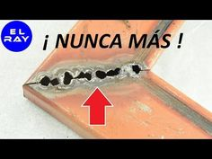 GUÍA PARA PUNTEAR SOLDAR PERFILES DELGADOS SIN PERFORARLOS O DAÑARLOS CON ELECTRODO REVESTIDO 6013 - YouTube Welded Metal Projects, Welding Art Projects, Welding Tips, Metal Welding, Metal Bending Tools, Diy Table Saw, Box Joints, Welding Equipment, Household Cleaning Tips
