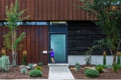 Wren Residence / Elemental Architecture #door