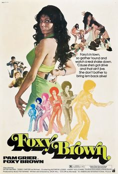 Foxy Brown Movie, Foxy Brown Pam Grier, Pam Grier 70s, Vintage Black Glamour, Vintage Beauty, Good Girl, Poster Design, Cinema Posters, Cinema Cinema
