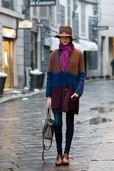 8 Stylish Denim Looks for Crappy Weather...great post