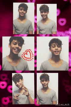 I love his cute smile and that dimple <3 #HarrisJ