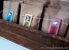 Under The Table and Dreaming: Make Your Own Microwave Popcorn Packs {Outdoor…