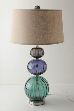 glass  lamp