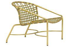 Kantan Lounge Chair, Sage on OneKingsLane.com