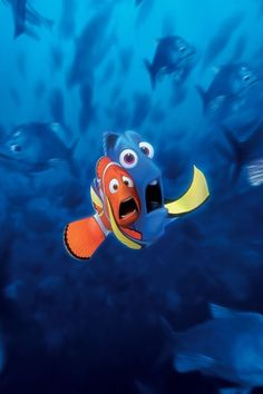 Day 11 - Favorite Animal Sidekick: Dory. Yes, I'm cheating on this because this is Marlin and Dory. They're both animals. But whatever. Without Dory, Marlin would never have found Nemo. And without Marlin, Dory would never have found herself. The best sidekicks not only help, but are helped by their friend.