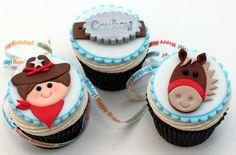 goodtoknow: Cowboy cupcakes