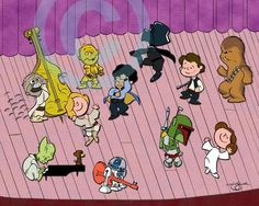Star Wars and Peanuts? Yes, Star Wars and Peanuts! Is there anything more cute, cool and drool-worthy?!