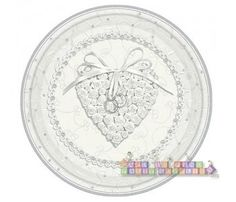 Wedding and Bridal 'With This Ring' Large Paper Plates (8ct)