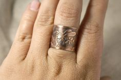 https://www.etsy.com/listing/236939823/bees-queen-ring-copper-ring-honey-rustic?ref=shop_home_active_5