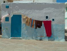 Hanged clothes in Asilah by Xosé Castro, via Flickr