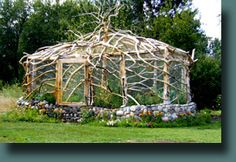 Inclosed Bird Proof Raised Garden by Secora's Deadwood Creations