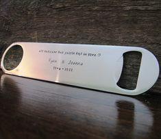 Groomsmen gifts  - bottle opener