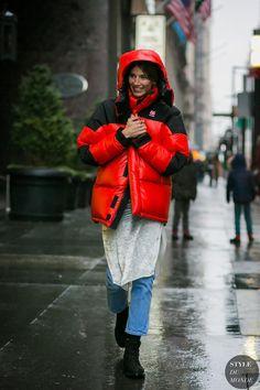 New York Fashion Week Fall 2017 Street Style: Veronika Heilbrunner