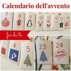Calendario dell'avvento fai date