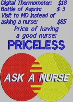 Ask A Nurse or NP Embroidery Design by DrusDesigns on Etsy, $4.50