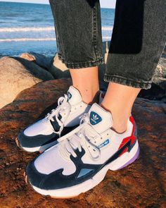 new concept b7ff9 35939 Sneaker styles on Instagram  Adidas Falcon  Sneakers