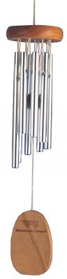 Little Gregorian Chimes.  Create a cathedral of sound with A Woodstock #Gregorian Chime. Tuned to a medieval scale, this chime echoes the vocal music of the gothic era. The tranquility of this ancient music is perfectly suited for the random movement of a windchime. Boxed for gift-giving. Length: 41 inches. Consumer warranty is 1 year for anything - lifetime on tuning. Cannot sell into Canada per manufacturer.  #windchime #windchimes