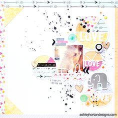 Project Ideas for American Crafts - Amy Tangerine Collection - Rise and Shine - 12 x 12 Double Sided Paper - Rachel