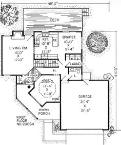 Country Farmhouse Traditional House Plan 20064