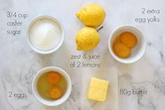 The very best Thermomix Lemon Recipes - perfect ways to use up all of those lemons you have lying around!