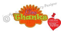 Turkey Frame Embroidery Applique Design-Thanksgiving