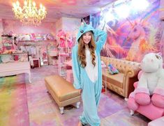 This, my friends, is the Unicorn Café. | A Unicorn Café Actually Exists And It Looks Goddamn Magical