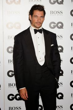 David Gandy Attends the GQ Men of the Year Awards 2014 (Video) ( Picture Update) ~ David James Gandy