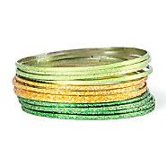 The perfect green & gold bangles to stand out this St. Patrick's Day